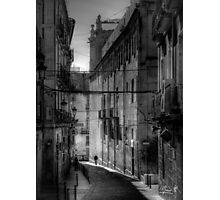 Small street in Alicante Photographic Print