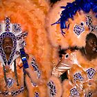 mardi gras indians by Bruce  Dickson