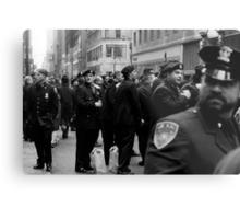 NYC Cops Metal Print