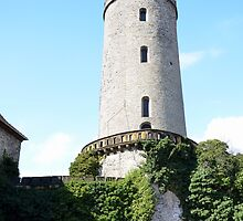 Burg Sparrenberg main tower by Beatminister