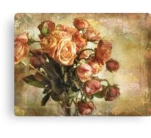 Vintage Bloom Canvas Print