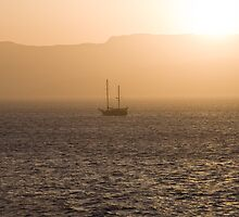 Red Sea Sunset by Chris Vincent