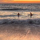 Evening Dip by Lynden