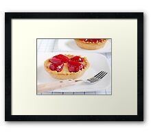 Strawberry Tarts Framed Print