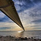 Under the humber bridge by SteveBB