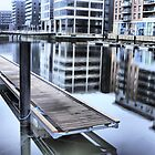 Clarence Dock in Leeds by SteveBB