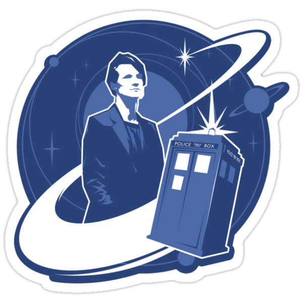 Doctor Who: The Eleventh Doctor Sticker by Jonny Eveson