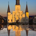 St. Louis Cathedral by Trudy LeDoux