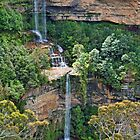 Katoomba Falls Falling by jayneeldred