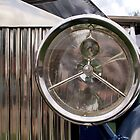 Vintage Rolls Headlight by Jazzdenski