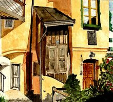 Beautiful Germany  Burghausen by Marie Luise  Strohmenger