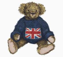 Brit Bear - Teddy with Union Jack Kids Clothes