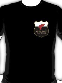 'Muslamic Ray Guns' Emblem T-Shirt