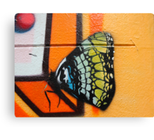 Butterfly Works Canvas Print