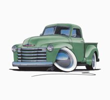 Chevy 3100 Pick-Up Pastel Green by Richard Yeomans