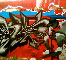 Graffiti StKilda by LJ_©BlaKbird Photography