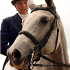 Dressage Portrait - Saratoga, Ny 2007 by Zachary Lynch