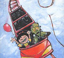 "My Pet Zombie ""Zombie Rollercoaster"" by Okse"