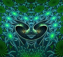 The Escher Water Fairy Queen by Virginia N. Fred