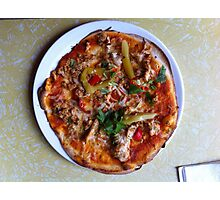 Pizza Verano Aves Photographic Print