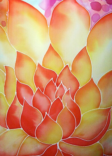 Fire Flower by Angel Ray