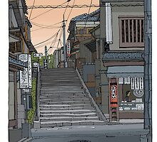 Kyoto Steps by David  Kennett