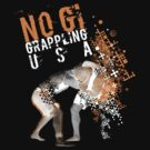 NO GI GRAPPLING USA WHITE by Willy Karl Beecher