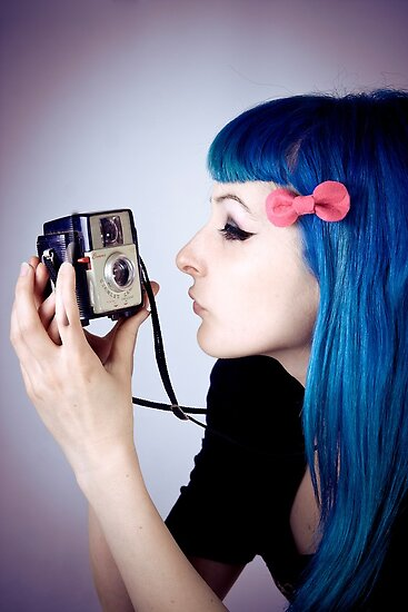 Alt Model Alphie with Vintage Camera by leposava