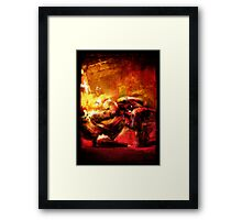 AUSTRALIAN CHAMPIONS CUP POSTER Framed Print