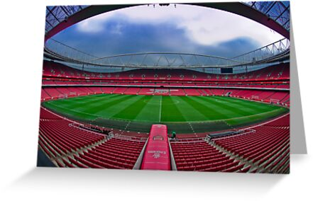 Emirates Stadium by Phillip Hardy