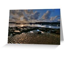 Ripples and Reflections - Paradise Beach, Sydney - The HDR Experience Greeting Card