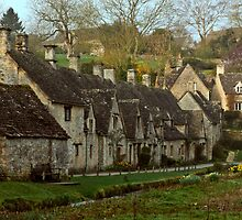 Bibury   Arlington Row by James  Key