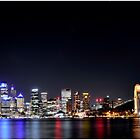 Sydney at night by Jorge's Photography