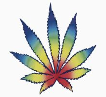 Rainbow Dope Leaf by Randle
