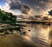 Seclusion - Paradise Beach , Sydney - The HDR Experience by Philip Johnson