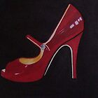 The Red Shoe Sold by sueangel