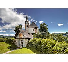 Maria Worth - Church Photographic Print