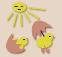 Funny Peep Peep Chicken t-design by patjila