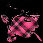 Want Pink Plaid by cipher