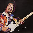 Jimmy Hendrix  by chris benice