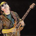 Carlos Santana by chris benice