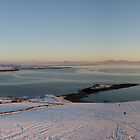 Fintra Bay in the Snow by emcsphotos