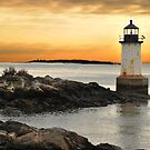 Old lighthouse 2:  Salem, Mass by john forrant