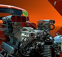 1941 Chevrolet Twin Engine Dragster Pickup by TeeMack