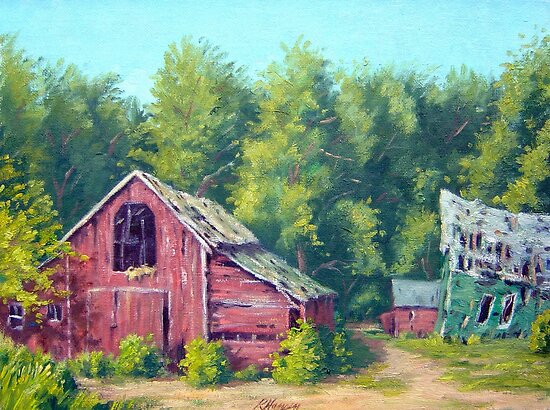 Overgrown Farm by RickHansen