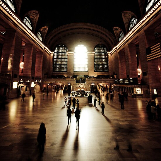 Ghosts @ Grand Central Terminal by andre-wyg
