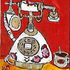 Telephone &amp; Tea by RobynLee
