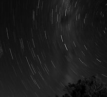 bakers beach star trail by Patrick Reid