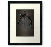 Pierced Through My Soul Framed Print