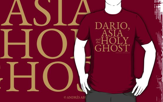 Dario, Asia and the Holy Ghost by Andrés Abel